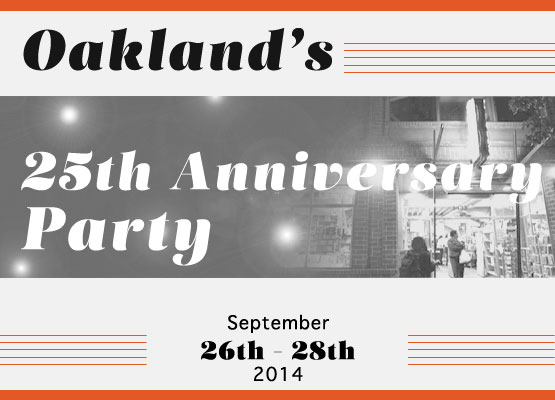 Oakland 25 Years