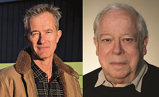 Geoff Dyer and David Thomson at DIESEL, A Bookstore in Brentwood