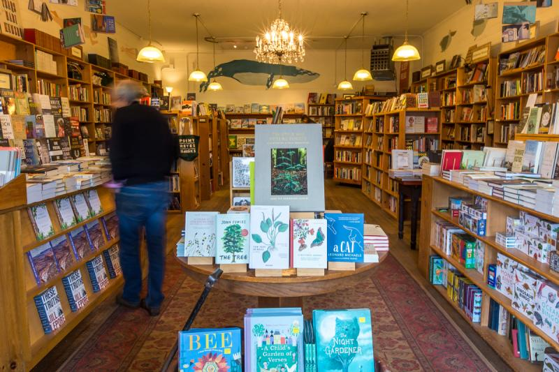 Point Reyes Books is owned by Stephen Sparks and Molly Parent, who met while working at San Francisco's Green Apple Books and acquired the 16-year-old shop in 2017.
