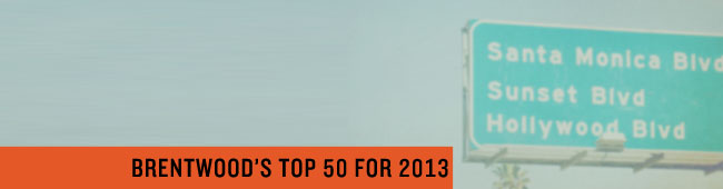 Brentwood's Top 50 for 2013