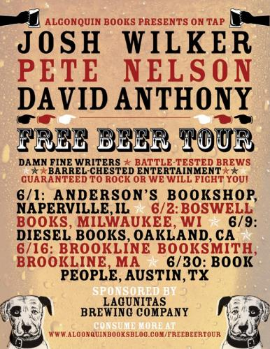 Free Beer Tour poster